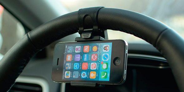 мобильный держатель-ремень на руль