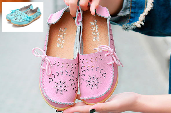 красивые розовые женские туфли